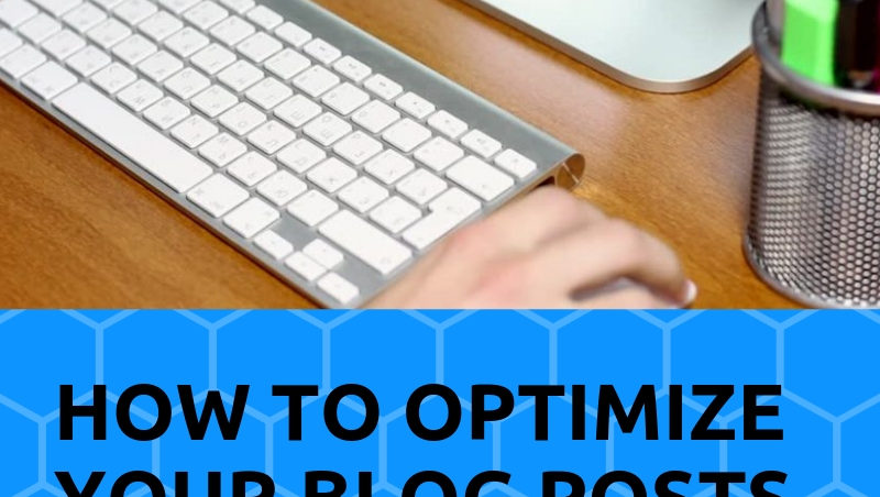 optimize your blog posts